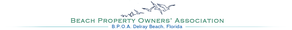 Beach Property Owners Association